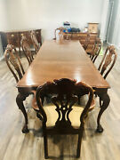 Henredon Rittenhouse Square Dining Table W/pads Or 8 Chairs Or Sideboard.
