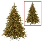 9 Ft. Frasier Grande Artificial Christmas Tree With Dual Color Led Lights