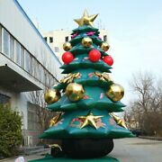 20ft Giant Inflatable Christmas Tree Airblown Yard Decor Led With Air Blower