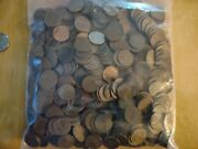Huge 500+ Lincoln Cents Wheat Pennies Set Lot Teens -1958 P D S