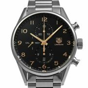 Tag Heuer Carrera 1887 Ref.car2014.ba0799 Menand039s Watch From Japan N1024