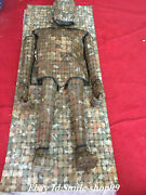 67 Collect Chinese Old Jade Jadeite Hand-carved Splice Jade Clothes Armor