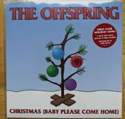 The Offspring Andlrmandndash Christmas Baby Please Come Home Limited Etched Red 7-inch Vinyl