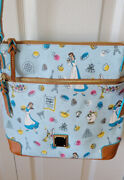 Disney Dooney And Bourke Beauty And The Beast Food And Wine Crossbody