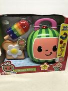 Cocomelon Lunchbox Playset 15 Pieces Stack Sort And Learn Counting Toy Set