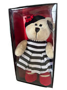 Starbucks Bearista Girl Bear Plush Holiday Alice And Olivia By Stacey Bendet 2013
