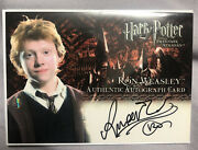 Harry Potter Poau Ron Weasley Autograph Rare Variant Early Signature