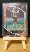 2020 Chase Young Absolute Orange Mosaic Auto /25 Rookie Card Rc From Panini