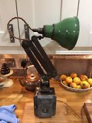Vintage Edl Anglepoise Lamp With Igranic Lo Vo Transformer C1932 No 1