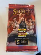 2018-19 Panini Select Basketball Foil Pack Sealed Unopened Luka/young Rc H244