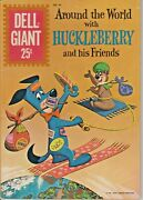 Rare Dell Giant Huckleberry Hound 44 July 1961 Nm