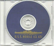 Uss Mobile Cl 63 Cruise Book Wwii On Cd Rare Navy