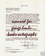 James M Cainsells Rights Double Indemnity1945 - Autograph