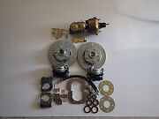 1964 1965 1966 Mustang Power 4 Wheel Disc Brake Conversion Does All 4 Corners