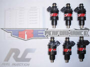 Rc 52lb Flow Matched Fuel Injectors Chevy Ford Gmc Bosch New 550cc
