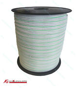 Poly Tape 200m X 12mm - Lowest Resistance Available Electric Fence Polytape Wire