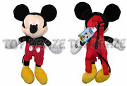 Mickey Mouse Plush Backpack Doll Bag Stuffed Toy Figure Licensed Disney 16 New
