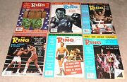 12- Vintage 1977 The Ring Boxing Magazine Lot A Full Year In Great Condition