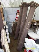 Set4 Victorian Gingerbread Square Porch Column Posts 6and039