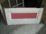 Antique Salvaged Victorian Under Window Molding Panels 39.25 X 21 Sign Use