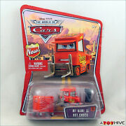 Disney Pixar Cars World Of Cars My Name Is Not Chuck Pitty 55 - New