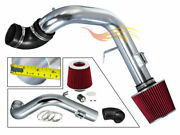 Red Cold Air Induction Intake Kit+filter For Chevy 05-07 Cobalt Ss Supercharger