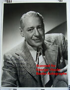 Henry O'neill - Photo - Vtg - Inscribed - Actor 11 X 14 - Billy The Kid