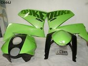 Ktm Duke 99-02 Top Cowl Front Guard And Tank Cover Genuine Green Light Scratches