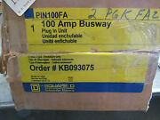 Square D Pin100fa 100 Amp Busway Plug In Unit