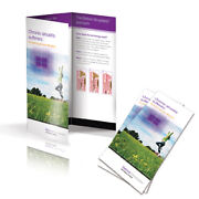 5000 Tri-fold Glossy Brochures Real Printing Not Copies Full Color 8 1/2 X 11
