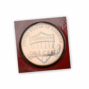 2012 D Lincoln Shield Penny In Original Mint Wrapper From Mint Set