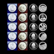 2012 P+d+s+s America The Beautiful National Parks Proof Coins In Coin Flips