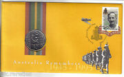 1995 End Of Wwii Anniversary Pnc Stamp Coin And Cover Nice Item. Free Post