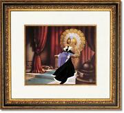 Framed Disney Snow White The Wicked Queen Cel Le 350