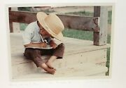 Bill Coleman The Scholar Ii Amish No 466 Limited Edition Signed Photograph
