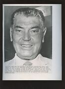 Original June 25th Jack Dempsey Turns 69 Boxing Wire Photo