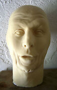 Ray Bolger Latex Head From Movieland Wax Museum Mold Scarecrow By Pat Newman