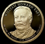 2013 S William Howard Taft Presidential Mint Proof Dollar From Us Proof Set