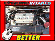 Cf Black Red 94 Cadillac Deville Sts/sls/concours 4.6 4.6l V8 Air Intake Kit