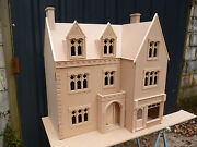 1/12th Scale Dolls House The Draycott Gothic House And Shop Kit