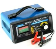 Battery Charger Booster Cable 6 / 12 Volts 2-amp / 6-amp Manual Battery Charger