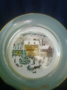 Collectable Vintage Avon1978 And 1980 Christmas Plate Series