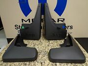 11-16 Jeep Patriot New Front And Rear Deluxe Molded Splash Guards Mopar Oem
