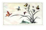 New 8gb 8g Creative Card Shaped Usb Memory / Korean Traditional Orchid Drawing
