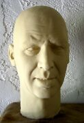James Jimmy Stewart Latex Head From Movieland Wax Museum Mold By Pat Newman