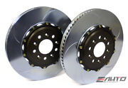 Brembo Front 2pc Rotor Disc Upgrade Replacement Type V Slot 355x32 Ford Gt 04-06
