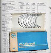 Vandervell Connecting Rod Bearings Vp91073. +.030/.75mm. Renault R8 And R10 ---