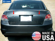 Tyger Fit 08-12 Honda Accord Trunk Liscence Overlay Molding Trim Accent 1.5 2pc