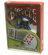 Houdini Bicycle Deck By Vincenzo Difatta And Uspcc Gimmick Escape Magic Card Trick