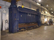 20' X 1,000 Ton Phillips And Davies Hydraulic Press Brake Low Profile